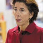 "GOV. GINA M. RAIMONDO'S Gina M. Raimondo's proposed fiscal 2021 budget includes a $64 million ""green bond,"" $35 million of which would go toward projects at state beaches, parks and campgrounds./ PBN FILE PHOTO/MICHAEL SALERNOPBN PHOTO/MICHAEL SALERNO"