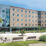 FACELIFT: In need of updates and repairs, Craig-Lee Hall at Rhode Island College underwent renovations on both its interior and exterior, resulting in a more modernized appearance.