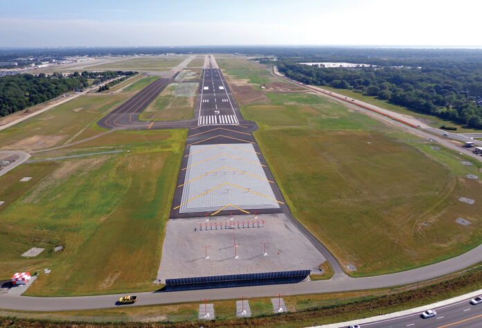 TRAFFIC AT T.F. GREEN Airport in November declined 8.1% to 324,085 passengers. / COURTESY R.I. AIRPORT CORP.