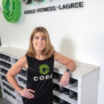 Denise Chakoian is a 14-year veteran of Rhode Island's fitness industry and a cancer survivor. Last year she saw her business grow by merging two studios into a 7,000-square-foot space in Providence's Wayland Square, doing business as CORE Cycle.Fitness.Lagree Studio.  / PBN PHOTO/MICHAEL SALERNO