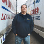 CAPTAIN OF THE SHIP: Bob Romano, president of Coutu Bros. Movers, purchased the business in 2000 and recently expanded with the acquisition of MGM Express Movers. / PBN PHOTO / RUPERT WHITELEY