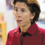 MAKING WAVES? Gov. Gina M. Raimondo wants to expand the Wavemaker Fellowship program, but the state can't say if it is actually keeping young workers and recent college graduates from leaving Rhode Island. / PBN FILE PHOTO/MICHAEL SALERNO