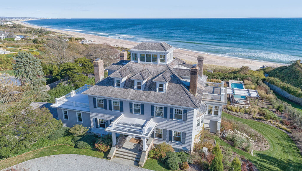 MAMMOTH TRANSACTION: The purchase of the oceanfront estate at 10 Bluff Ave. in Westerly for $17.6 million was the highest-priced residential sale in Rhode Island in 2019. / COURTESY MOTT & CHACE SOTHEBY'S INTERNATIONAL REALTY