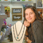 CREATIVE OUTLET: In her spare time, Krystal Amaral, a full-time attorney, makes and sells custom-designed jewelry through her Tiverton store, Created Purpose. / PBN PHOTO/DAVE HANSEN