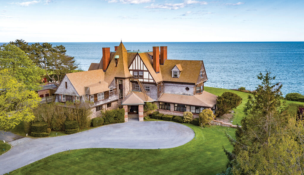 6 229 Ruggles Ave. | Newport PRICE: $6,200,000DATE SOLD: Sept. 30, 2019BUYER: Midcliff LLC SELLER: R&D TrustBROKER: Lila Delman Real Estate (buyer and seller)YEAR BUILT: 1886BATHROOMS: 10 full, 1 halfBEDROOMS: 12LIVING SPACE: 13,748 square feetPREVIOUS PRICE: Originally listed for $7,700,000 in May 2019. / Courtesy Lila Delman Real Estate