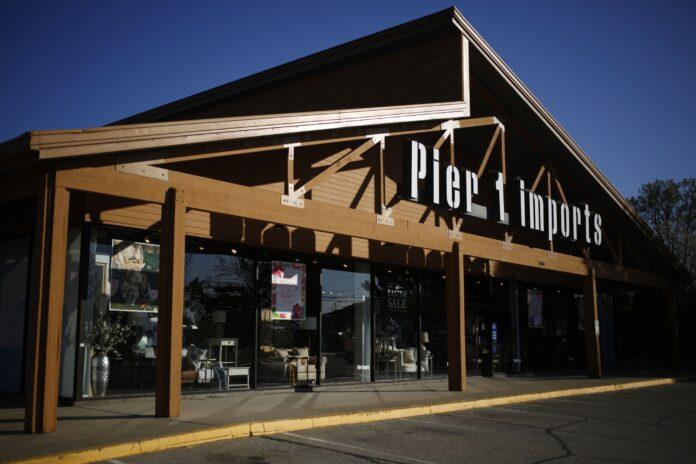 PIER 1 IMPORTS has filed for bankruptcy. / BLOOMBERG NEWS /LUKE SHARRETT