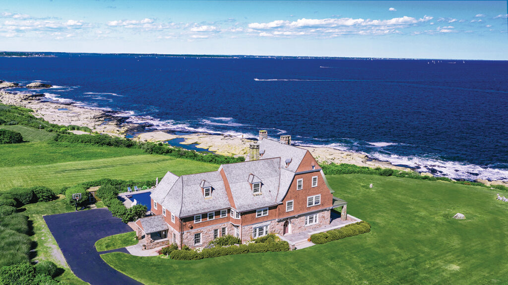 10. 40 Newton Ave. | Narragansett PRICE: $4,500,000DATE SOLD: April 15, 2019BUYER: Michael J. GretzSELLER: Guy Lancellotti IIIBROKER: Island Realty (buyer); Lila Delman Real Estate (seller)YEAR BUILT: 1884BATHROOMS: 7 full, 1 halfBEDROOMS: 5LIVING SPACE: 8,882 square feetPREVIOUS PRICE: Originally listed for $6,495,000 in August 2017. / Courtesy Lila Delman Real Estate