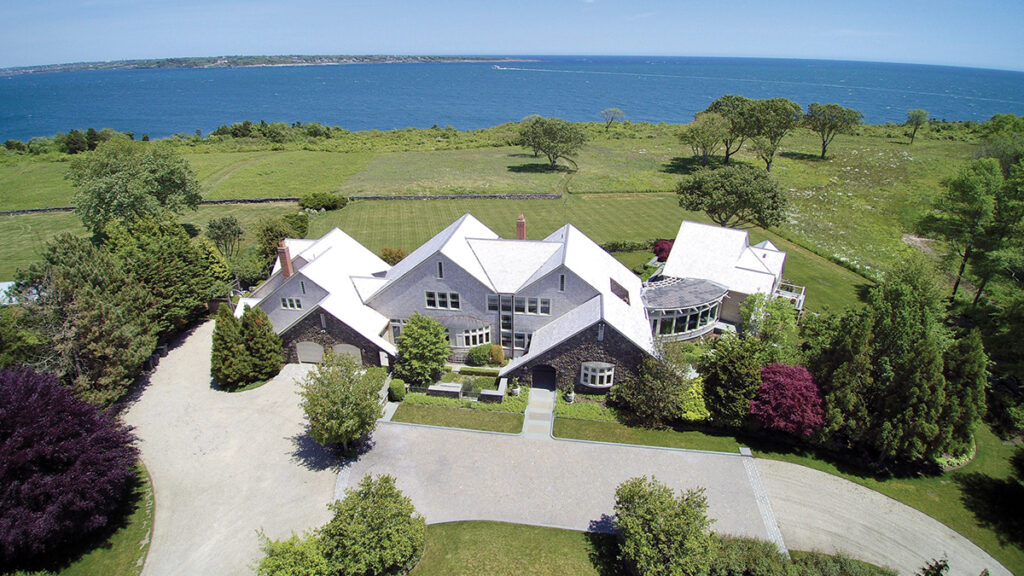 3 609 Beavertail Road | Jamestown PRICE: $8,000,000DATE SOLD: June 21, 2019BUYER: Barclays TrustSELLER: Nelson Northern Properties LLCBROKER: Mott & Chace Sotheby's International Realty (buyer and seller)YEAR BUILT: 1996BATHROOMS: 5 full, 3 halfBEDROOMS: 5LIVING SPACE: 8,534 square feetPREVIOUS PRICE: Originally listed for $8,975,000 in June 2018. / Courtesy Mott & ChaceSOTHEBY'S INTERNATIONAL REALTY