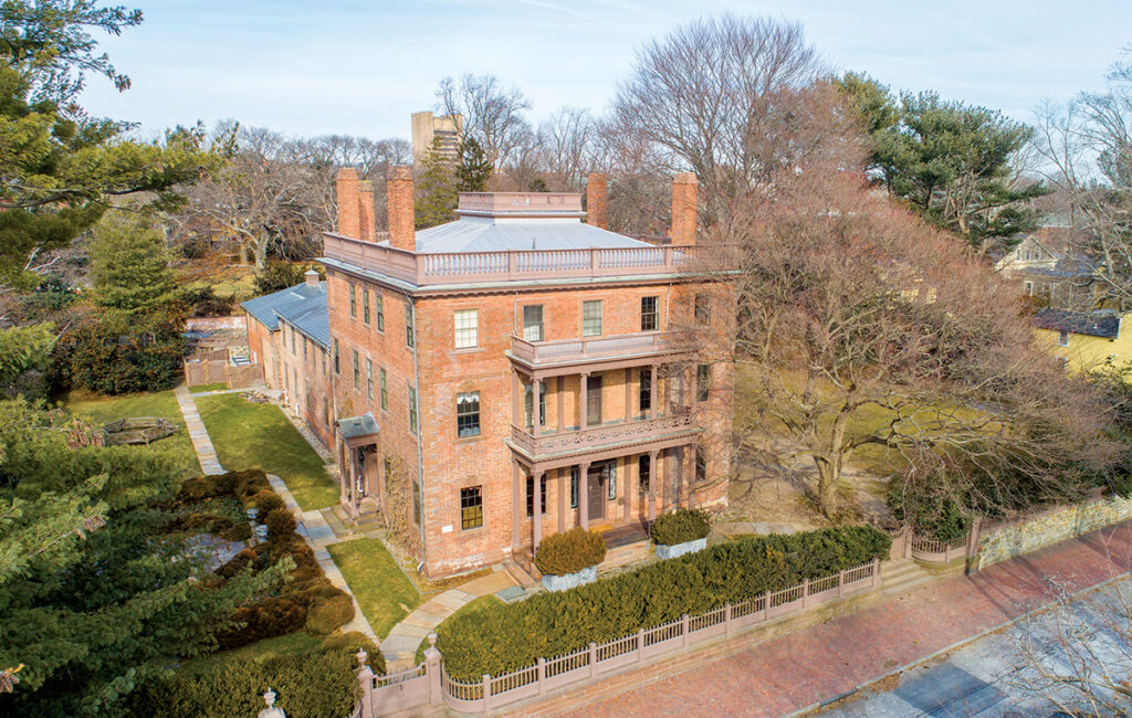 9 66 Williams St. | East Side of Providence PRICE: $4,600,000DATE SOLD: Dec. 18, 2019BUYER: Lorne A. AdrainSELLER: Jocelin HamblettBROKER: CrossRoads Real Estate Group (buyer); Mott & Chace Sotheby's International Realty (seller)YEAR BUILT: 1810BATHROOMS: 5 full, 4 halfBEDROOMS: 6LIVING SPACE: 11,790 square feetPREVIOUS PRICE: Originally listed for $5,500,000 in February 2019. / Courtesy Mott & ChaceSOTHEBY'S INTERNATIONAL REALTY