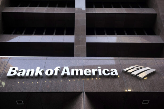 BANK OF AMERICA posted a $4 billion profit in the first quarter of 2020, reflecting a sharp increase in funds set aside for bad loans. AP FILE PHOTO/STEVEN SENNE