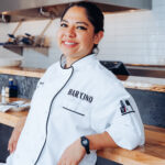 MARIANA GONZALEZ-TRASVINA, executive chef of Bar 'Cino has been nominated for Outstanding Rising Star Chef in the James Beard Foundation Awards. / COURTESY NEWPORT RESTAURANT GROUP