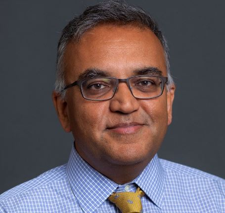 DR. ASHISH K. JHA has been named the new dean of the Brown University School of Public Health. / COURTESY BROWN UNIVERSITY
