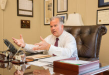 HOUSE SPEAKER Nicholas A. Mattiello will be challenged by GOP candidate Barbara Ann Fenton-Fung for his House of Representative seat representing District 15 of Cranston. / PBN FILE PHOTO/TRACY JENKINS