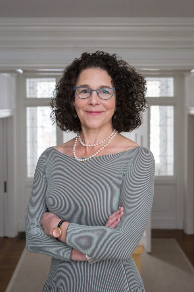 ROSANNE SOMERSON, president of the Rhode Island School of Design, received a five-year contract extension to continue leading the arts school through 2025. / COURTESY RHODE ISLAND SCHOOL OF DESIGN/JO SITTENFELD