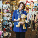 THE FABRICATOR: Deb Semple established Teddy Bearskins Inc. after she started sewing outfits for her twins. The independent retailer has been in business for nearly 40 years. / PBN PHOTO/RUPERT WHITELEY