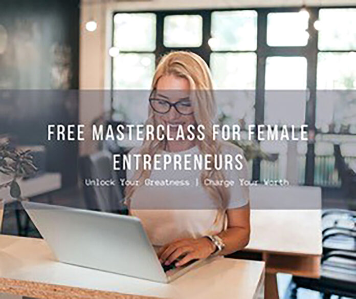 EMPOWERING FEMALES: Kirsten Oddie, a Rapid Transformational therapist and women's wealth and empowerment advocate, is hosting her female empowerment master class webinar in March and April. / COURTESY KIRSTEN ODDIE