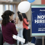 THE UNEMPLOYMENT rate in Rhode Island in January was 3.4%. / AP FILE PHOTO/LYNNE SLADKY