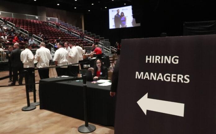 U.S. EMPLOYERS added employers added 273,000 jobs in February. / AP FILE PHOTO/WILFREDO LEE
