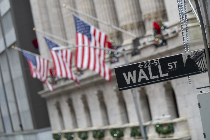 A SHARP DROP in the U.S. stock market triggered another temporary halt Monday. / AP FILE PHOTO/MARY ALTAFFER