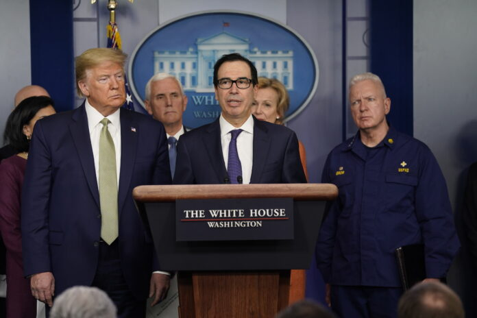 THE FEDERAL GOVERNMENT will allow businesses and individuals to delay paying their 2019 tax bills for 90 days past the usual April 15 deadline. / AP FILE PHOTO/EVAN VUCCI