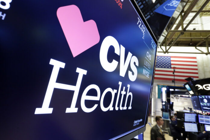 CVS HEALTH's Aetna is waiving patient payments for hospital stays tied to the coronavirus. Specifically, the company said many of its customers will not have to make co-payments or other forms of cost sharing if they wind up admitted to a hospital in the insurer's provider network. / AP FILE PHOTO/RICHARD DREW