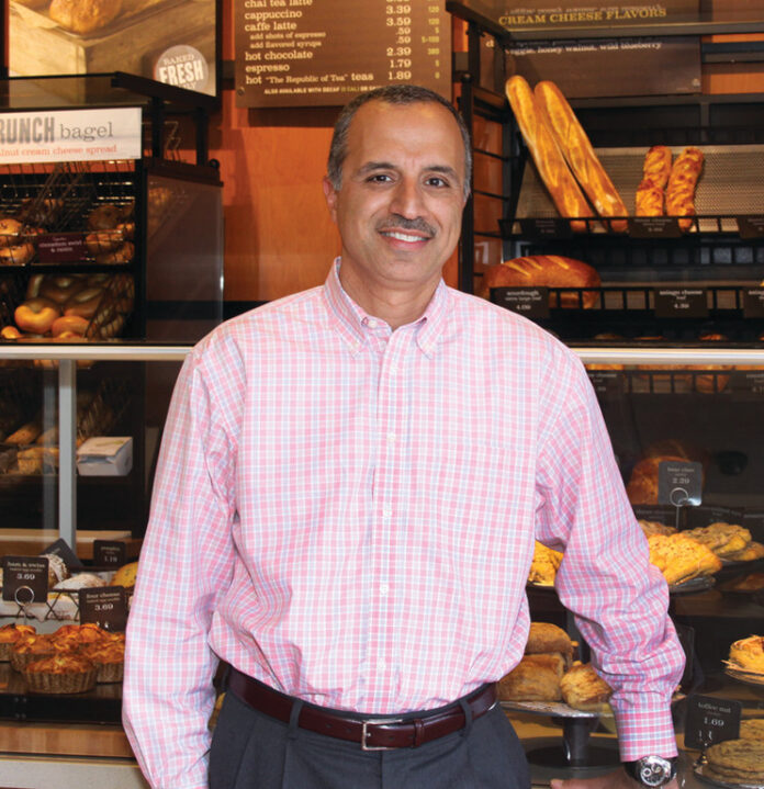 R.I.-BASED EXECUTIVE Bahjat Shariff says the effects of the coronavirus pandemic on the restaurant industry has led him to be laid off by Howley Bread Group, which operates Panara Bread locations in Rhode Island, Massachusetts and Connecticut. / COURTESY HOWLEY BREAD GROUP
