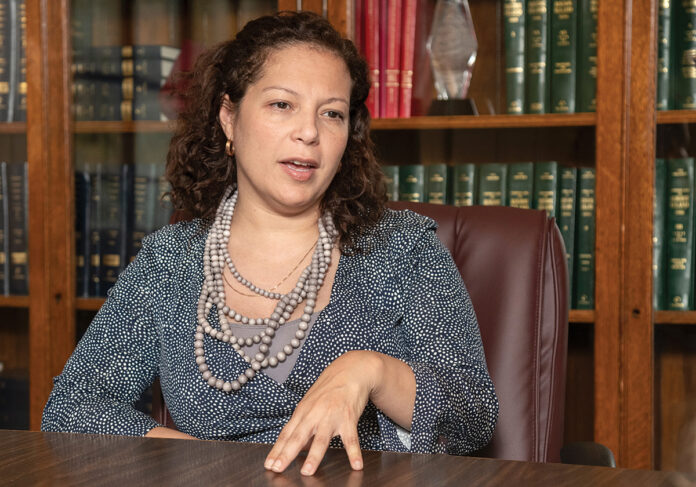 R.I. EDUCATION COMMISSIONER Angelica Infante-Green, is requiring all public-school districts to submit 'closure plans' to the R.I. Department of Education by March 19. / PBN FILE PHOTO/MICHAEL SALERNO