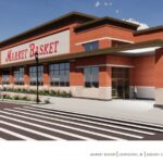 A RENDERING of the Market Basket that is planned to be built in Johnston/ COURTESY DEMOULAS SUPER MARKETS INC.