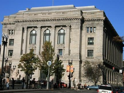 PUBLIC ACCESS to the U.S. Courthouse at One Exchange Terrrace has been discontinued until further notice due to concerns about the spread of the coronavirus. / COURTESY U.S. DISTRICT COURT