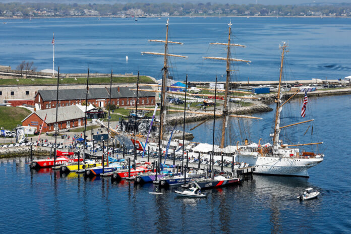 NEWPORT WILL once again be a host city in the Ocean Race. The stopover is planned for late spring of 2022. / COURTESY AINHOA SANCHEZ/VOLVO AB