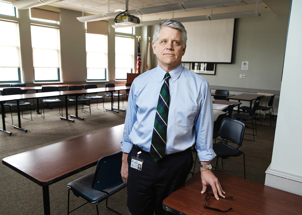 R.I. DEPARTMENT OF LABOR AND TRAINING Director Scott R. Jensen says the state's quick reaction to the COVID-19 pandemic and its transparency in releasing unemployment data has skewed how Rhode Island's workforce appears to be faring in comparison with other states. / PBN FILE PHOTO/ RUPERT WHITELEY