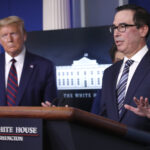 U.S. TREASURY Secretary Steven Mnuchin said that the Trump administration is seeking an additional $250 billion for the SBA's Paycheck Protection Program. / AP FILE PHOTO/ALEX BRANDON