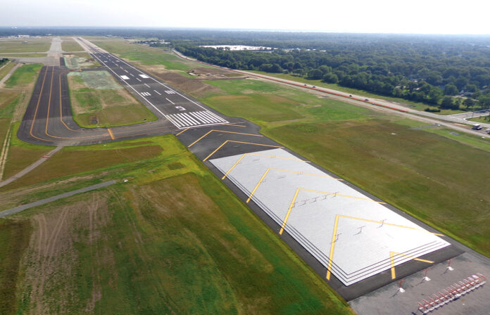 TOTAL PASSENGER traffic at T.F. Green Airport increased 2.7% year over year in January. / COURTESY R.I. AIRPORT CORP.
