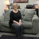 COACHING COMPANION: Megan Gallagher is the founder and owner of Here to There Wellness, an online coaching program that launched earlier this year. The program is a companion to her Here to There Counseling business in Warwick. / PBN PHOTO/ELIZABETH GRAHAM