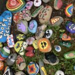 THE ROCK garden planted by The Croft School in Providence. / PBN PHOTO BY MARY MACDONALD.