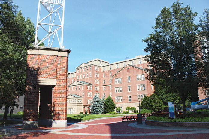 JOHNSON & WALES UNIVERSITY will receive $14.1 million in federal aid from the CARES Act to help with costs caused by the COVID-19 pandemic. / PBN FILE PHOTO/JAMES BESSETTE