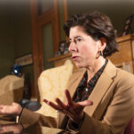 GOV. GINA M. RAIMONDO has joined Democratic governors from New York, New Jersey, Pennsylvania, Delaware and Connecticut to develop coordinated plans to restart their state economies after the COVID-19 pandemic. / PBN FILE PHOTO/MICHAEL SALERNO
