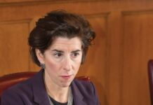 BALANCING ACT: Gov. Gina M. Raimondo is beginning a phased reopening of the state's economy but says it will be quickly halted if the state sees a surge in new cases of COVID-19. / PBN FILE PHOTO/DAVE HANSEN