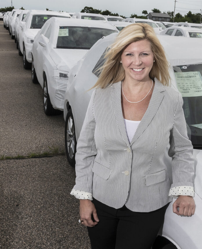 Kristin Urbach has been executive director of the North Kingstown Chamber of Commerce since 2015. The Chamber is one of Rhode Island's leading business membership and trade organizations and represents more than 400 businesses, including Quonset Business Park. / PBN FILE PHOTO/MICHAEL SALERNO