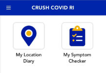 PRIVACY THREAT? The state's Crush COVID RI phone app includes GPS tracking that can 