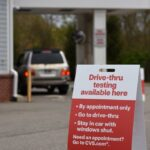 CVS HEALTH is opening 10 new drive-thru COVID-19 testing sites in Rhode Island as part of a larger national effort. / COURTESY CVS HEALTH CORP.