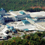 CLOSED FOR NOW: Foxwoods Resort Casino, above, on the Mashantucket Pequot Indian Reservation in Ledyard, Conn., and Mohegan Sun Inc. in Uncasville, Conn., have been shut down during the coronavirus pandemic, leading to some of the biggest spikes in jobless numbers in Connectict. / AP FILE PHOTO/BOB CHILD