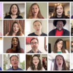 TWENTY MEMBERS of The Providence Singers Inc. perform 'Somewhere' from West Side Story as a virtual choir in a YouTube video to help the community cope with the COVID-19 pandemic. / COURTESY YOUTUBE