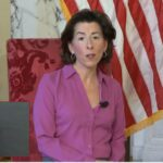 GOV. GINA M. RAIMONDO released a prerecorded address on Mother's Day that took the place of her daily coronavirus briefing. / COURTESY CAPITAL TV