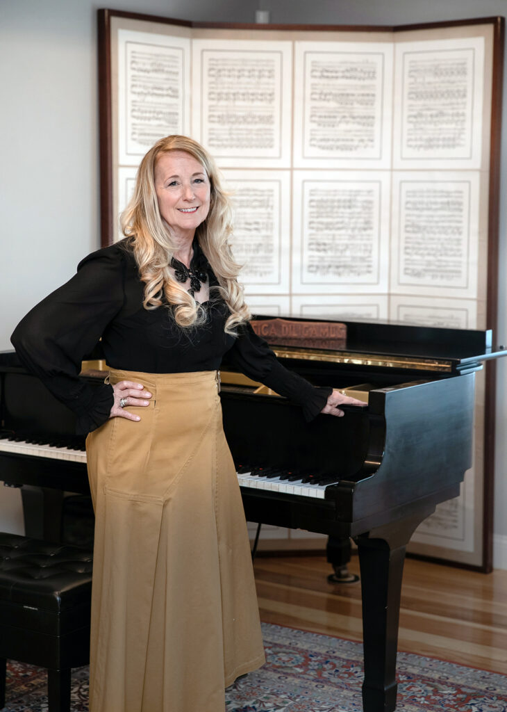 Suzanna Robinson Laramee's love for the Newport Music Festival began in 2015, when the classical pianist was a guest artist. She was named CEO and president in 2019. In May she added interim executive director to her responsibilities. / PBN PHOTO/TRACY JENKINS