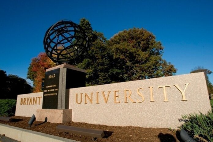 BRYANT UNIVERSITY, pictured, Johnson & Wales University and Rhode Island School of Design announced Monday their respective plans for reopening in the fall. / COURTESY BRYANT UNIVERSITY