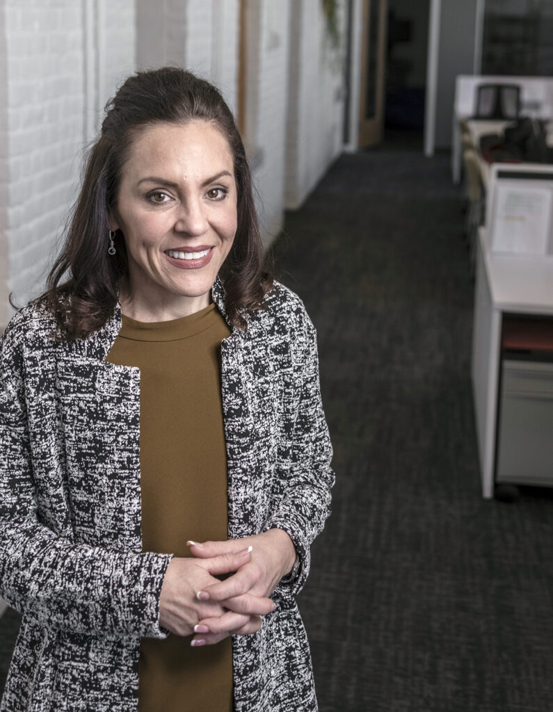 BATTLE AGAINST AIDS: Upward Health National LLC Vice President of Clinical Services Michele Kratz worked at Hahnemann University Hospital in her native Philadelphia at the tail end of the AIDS p andemic when she was 18. / PBN FILE PHOTO/MICHAEL SALERNO