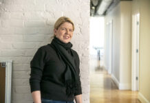 """CREATIVE CAPITAL: Margaret Hartigan, co-founder and CEO of Marstone Inc., a digital financial platform with offices in Providence, says she chose to base her company in Providence because of the """"incredible level of creativity and diversity here."""" / PBN FILE PHOTO/MICHAEL SALERNO"""