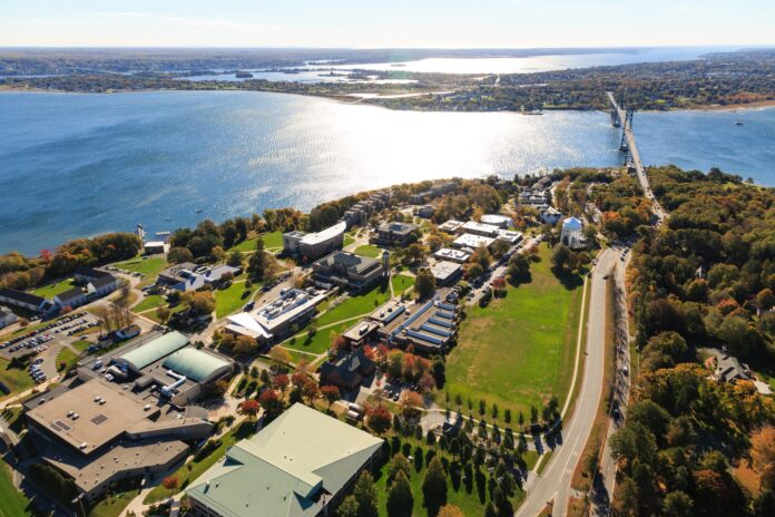ROGER WILLIAMS UNIVERSITY'S reopening plan for the 2020-21 academic year will include hybrid learning of both in-person instruction and online learning, testing protocols on campus and offering students an option to gain real-world experience for credit. / COURTESY ROGER WILLIAMS UNIVERSITY