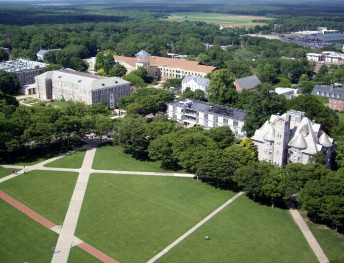 UNIVERSITY OF RHODE ISLAND announced Wednesday some details on how the campus will reopen in the fall. / COURTESY UNIVERSITY OF RHODE ISLAND